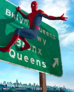 Spiderman Homecoming - tercer póster