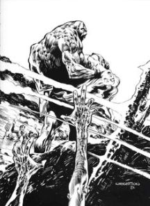 Swamp Thing - underwater - Wrightson
