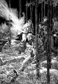 bernie wrightson - frankenstein 06