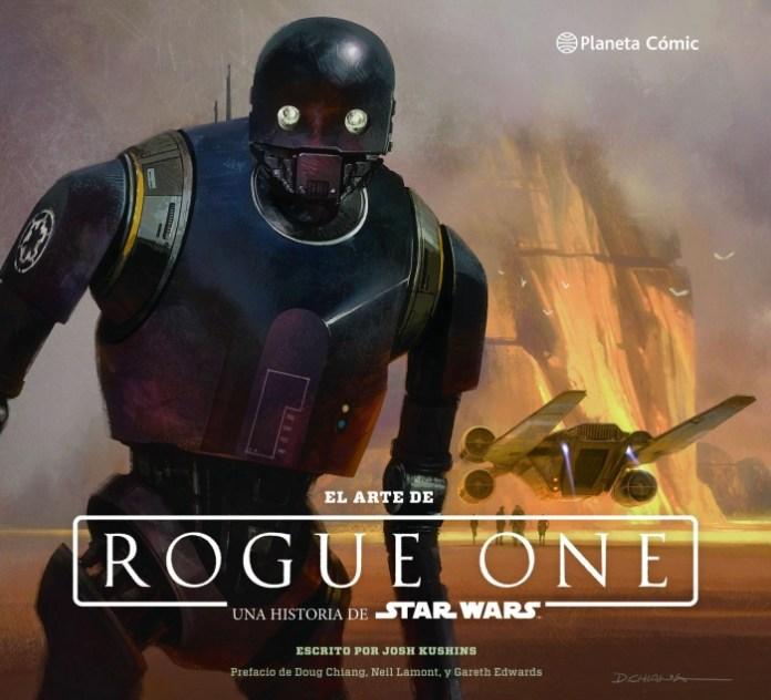 El Arte de Rogue One Portada