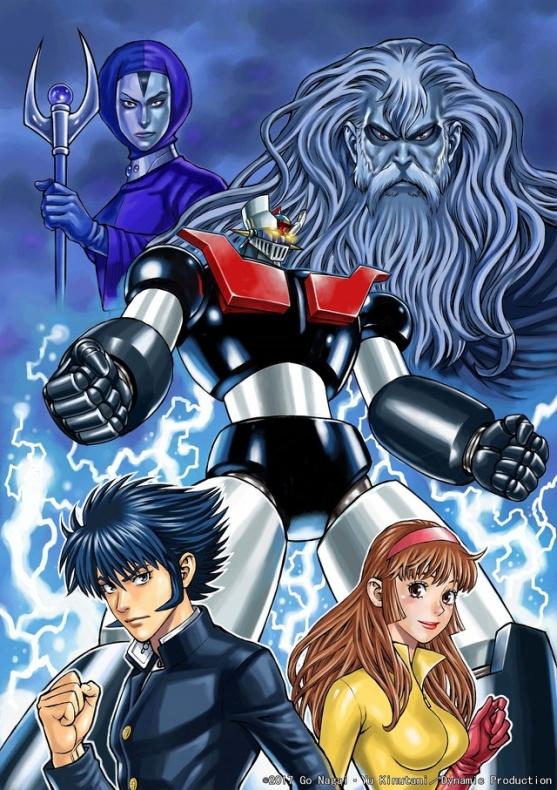 dos nuevos mangas Mazinger z 2