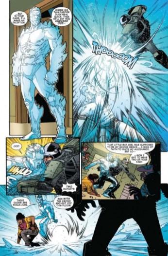 Páginas interiores de 'Iceman' #1