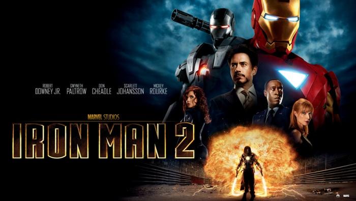 Iron Man 2 - póster