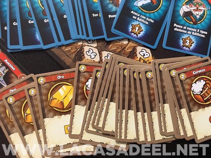 Análisis del juego de mesa 'Vikings Gone Wild'