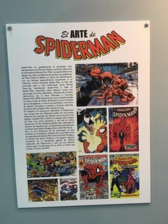 El arte de Spiderman