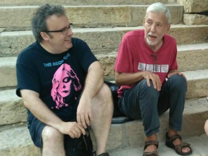 Enrique Corominas y Alejo Cuervo