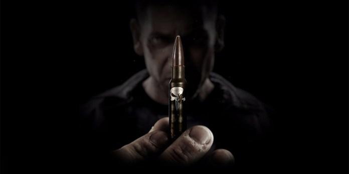 Marvel The Punisher Jon Bernthal Bullet Logo