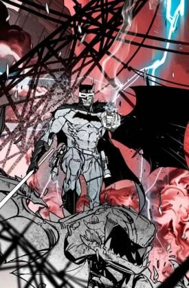 Primer vistazo a 'Batman Red Death' (1)