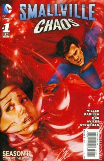 Smallville Season 11 Chaos - Agustín Padilla - VGCómic