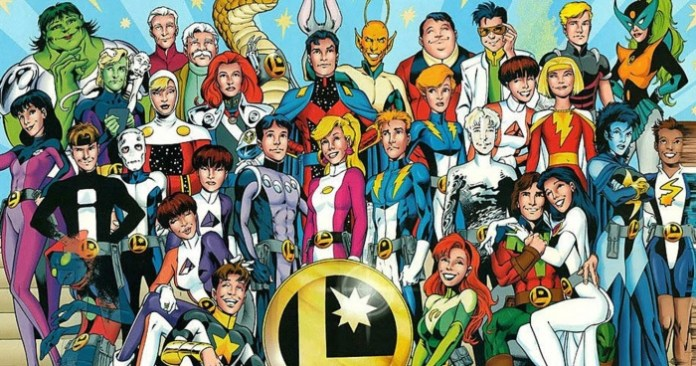 Dan DiDio JSA Legión de Superhéroes