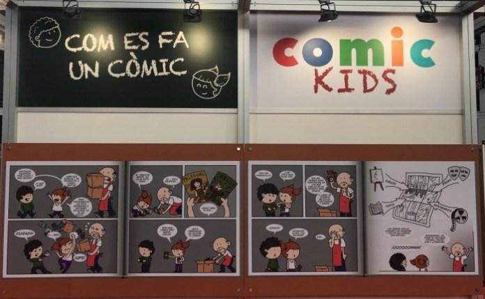 Salón Cómic Barcelona Comic Kids
