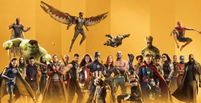 marvel 10th anniversary poster