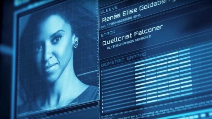 Altered Carbon temporada 2 - Renée Elise Goldsberry - Quellcrist Falconer