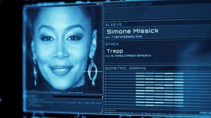 Altered Carbon temporada 2 - Simone Missick - Trepp