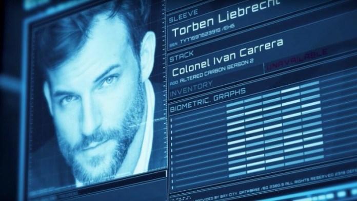 Altered Carbon temporada 2 - Torben Liebrecht - Coronel Ivan Carrera
