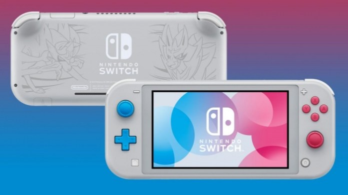 switch lite sword shield