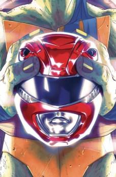 Power Rangers X Tortugas Ninja