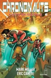 Chrononauts: Futureshock - portada #1