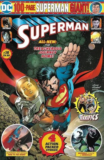 Portada Superman: Up In The Sky #16