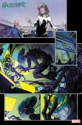 Páginas interiores de Ghost-Spider #7
