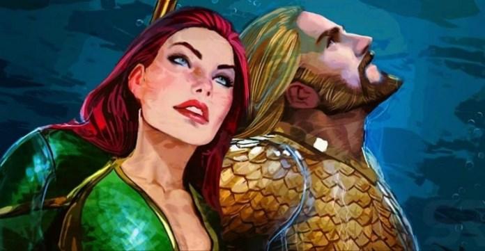Aquaman y Mera están teniendo un bebé en The Comics 780x405 1