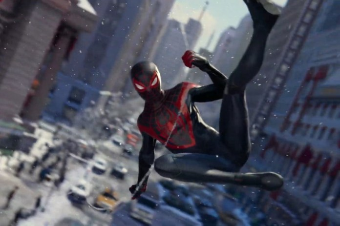 Marvels Spider Man Miles Morales videojuego ps5 trailer cover