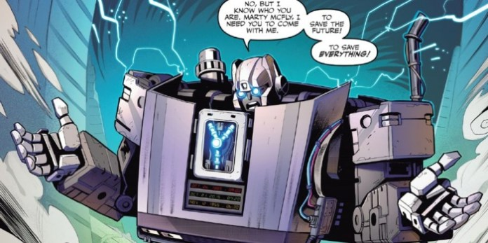 Back to the Future Transformers 1