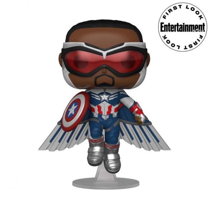 Funko-Pop-Capitán-América-Falcon-Y-el-Soldado-De-Invierno-Marvel-Studios-Disney+