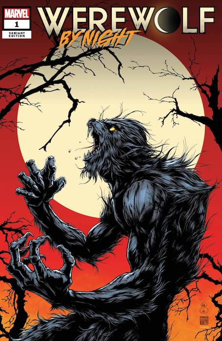 Werewolf at night