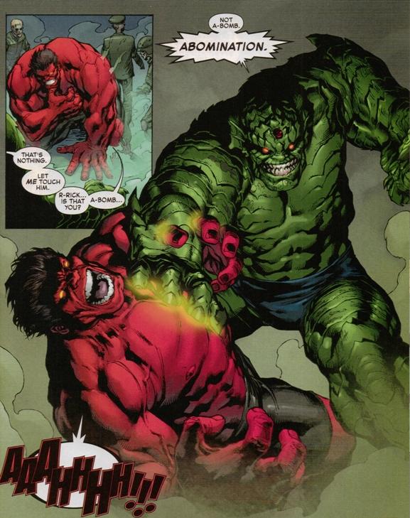 red hulk vrs abomination 3