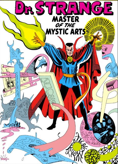 Steve Ditko spider man Doctor Srange Marvel Comics 1