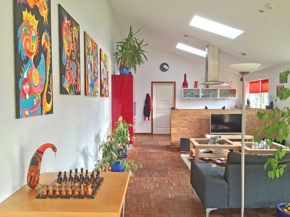 La casa de Freja -living room before