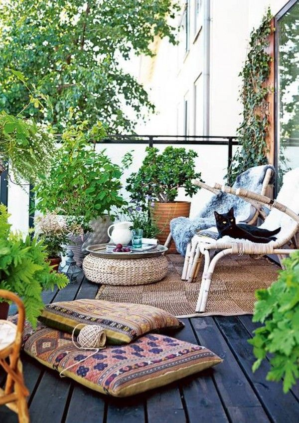cozy balcony terrace summer 9