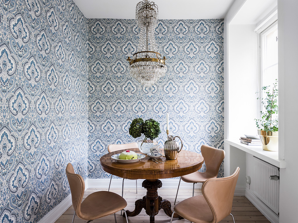 interiors decorated colorful patterns 12