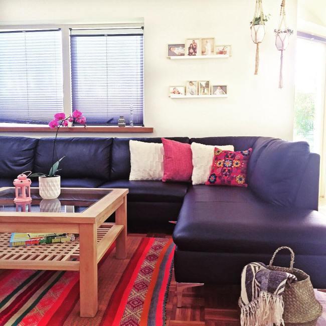 living room peruvian rug_la casa de freja 4