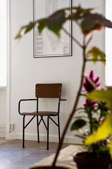 small swedish scandinavian bohemian apartment 7