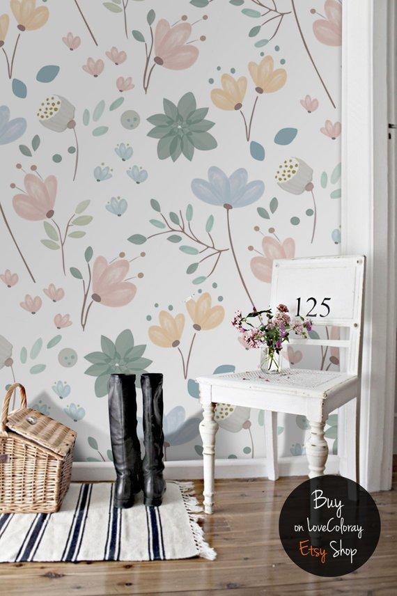 floral wallpaper 09