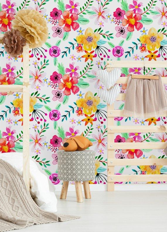 Papel Tapiz Floral Que Hacer Y Que No Hacer La Casa De Freja