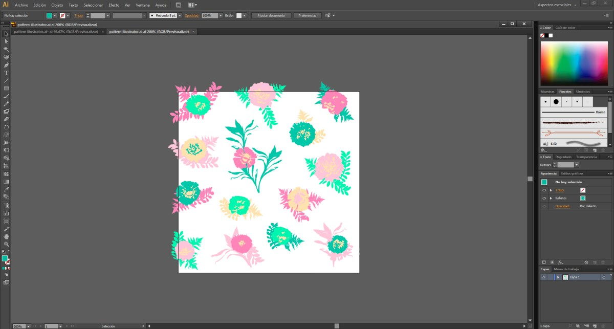 pattern illustrator 0