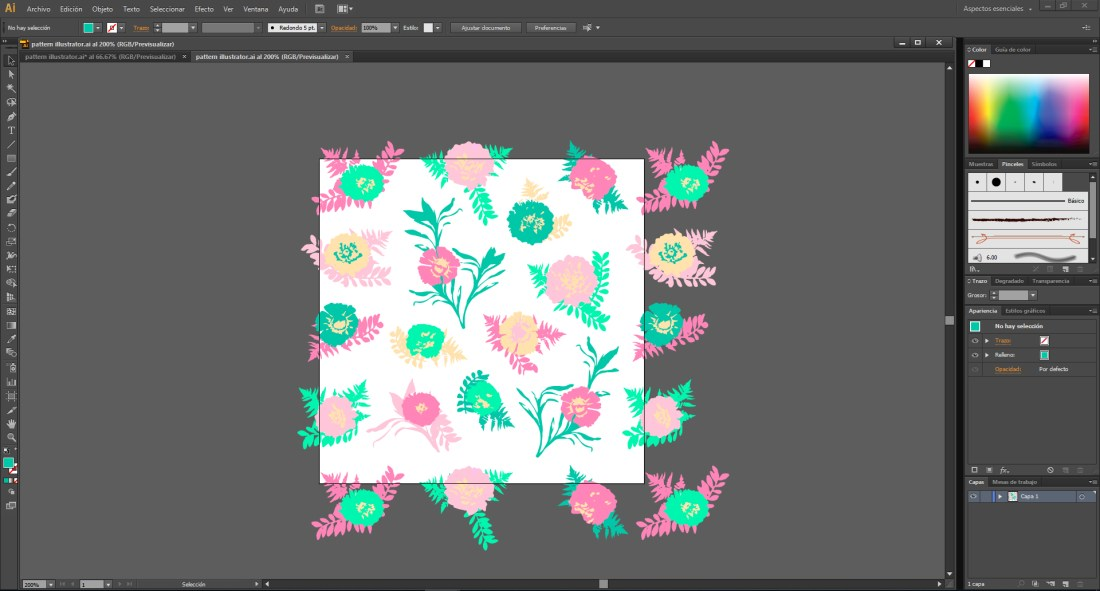 pattern illustrator 2
