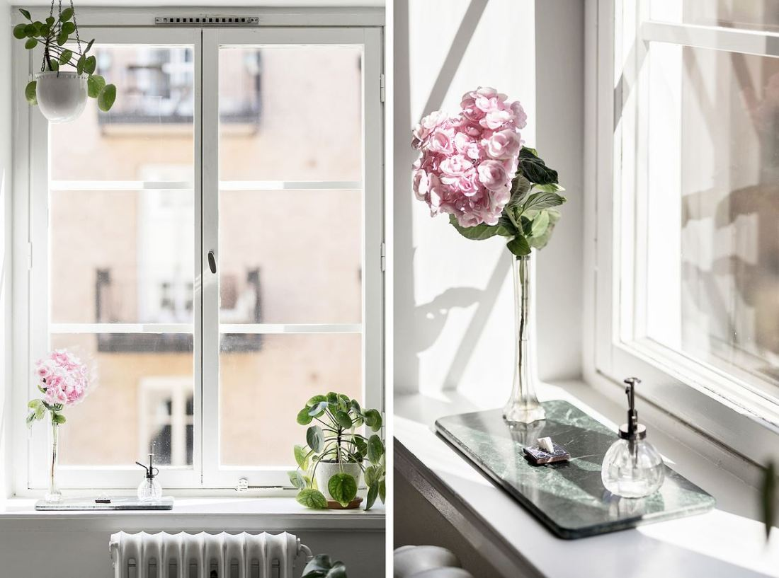 Romantic Scandinavian apartment 11