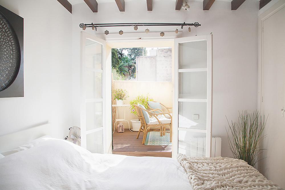 scandi boho apartment in Mallorca 01