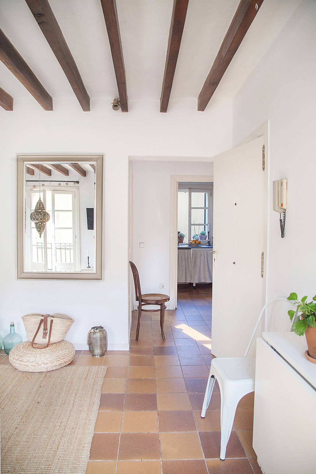 scandi boho apartment in Mallorca 08