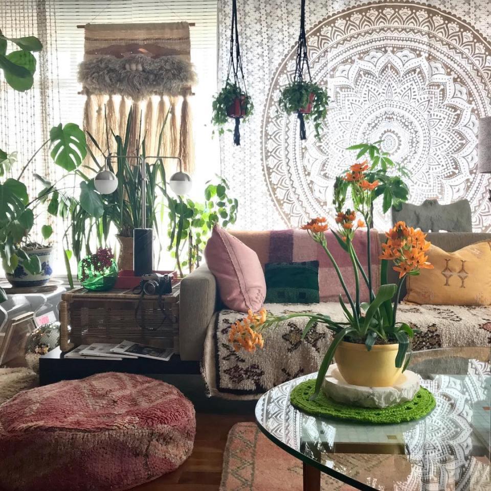 bohemian interiors theloungeista 02