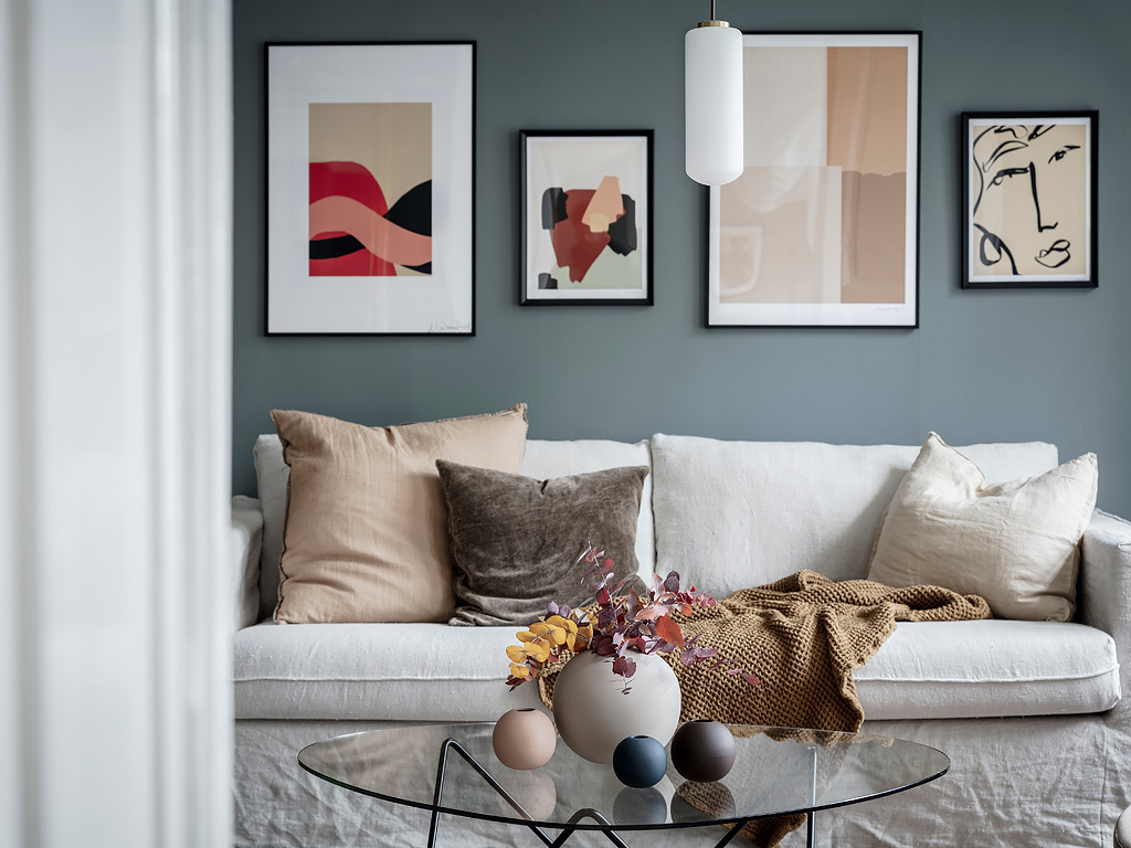 A mix of styles in just one apartment 08
