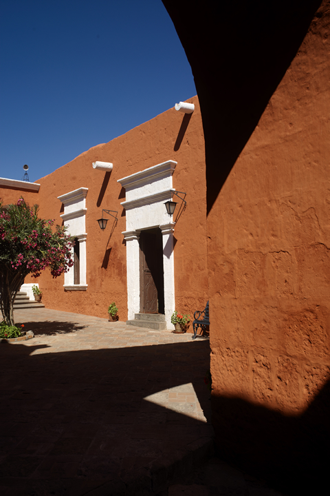 Convent of Santa Catalina and its color palette 10
