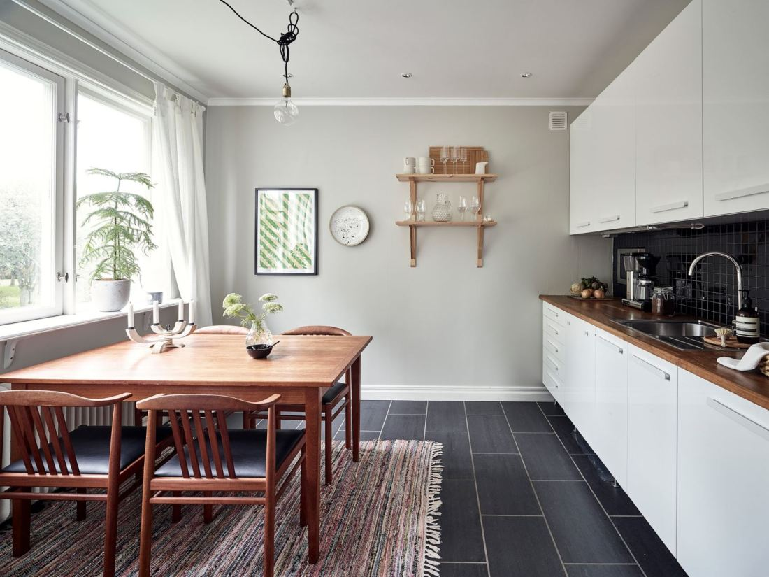Metal, pink and blue palette in a Scandinavian decoration 14