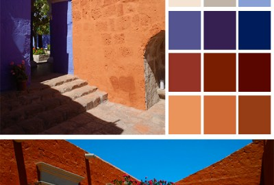 convento santa catalina color palette 00