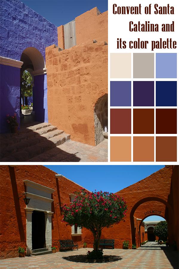 convento santa catalina color palette 00