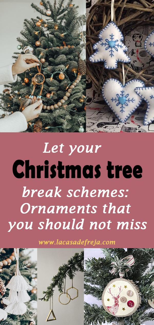 Let your Christmas tree break schemes